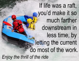 Go with the flow life as a river raft trip personal spiritual professional business akiyoko photo