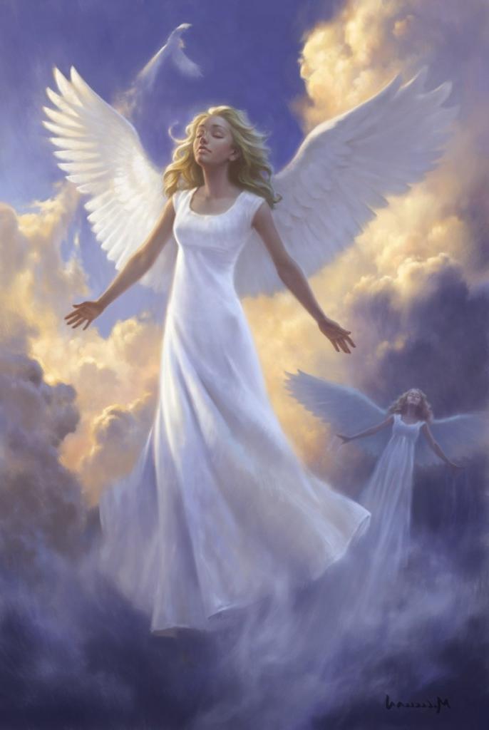 Dumbing It Down >> angels | David M Masters