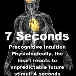 intuitive intuition heart 7 seconds mind 3 seconds precognitive intuition