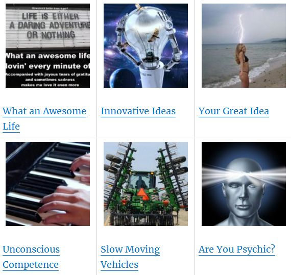 what an awesome life innovative ideas your great idea unconscious competence are you psychic