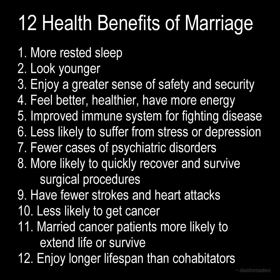 ️ Benefits Of Marriage. The Financial Benefits Of Marriage