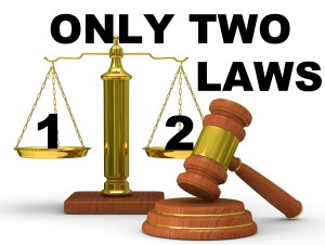 only 2 laws