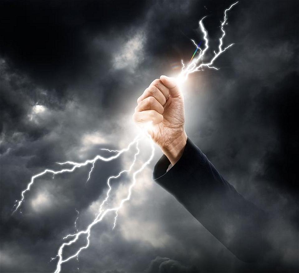perception purpose prosperity empower attraction lightning strikes awakening