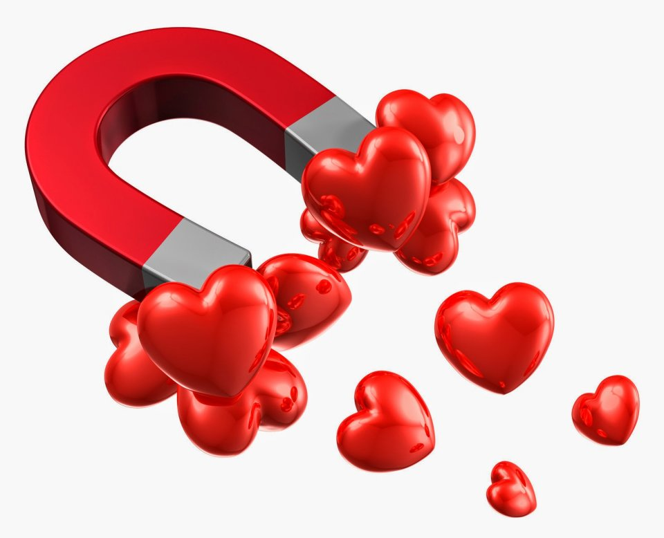 love magnet vibration